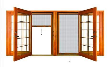 توری درب و پنجره upvc
