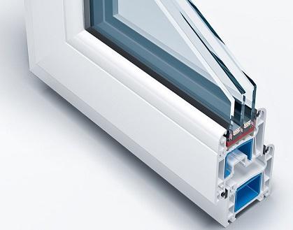 شیشه سه جداره پنجره های Upvc مزایای شیشه سه جداره تعمیر پنجره Upvc