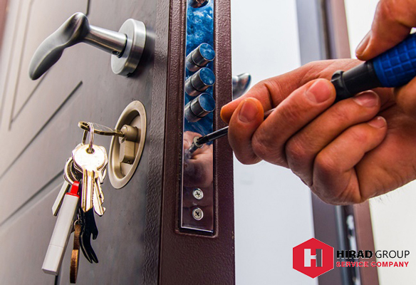 نحوه اجرای تعمیرات درب ضد سرقت